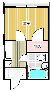 本宮マンション301間取図