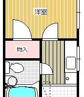 本宮マンション402間取図
